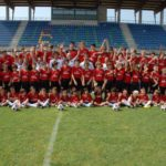 Stade de football du Camp Football Milan AC à Jesolo
