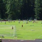 Playing field Cortina of AC Milan Camp