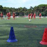 AC Milan Camp playing field of Lignano Sabbiadoro
