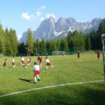AC Milan soccer Camp playing field