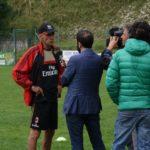 AC Milan Camp prestigious staff