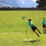 Goalkeeper at AC Milan Camp Cortina