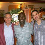 George Weah AC Milan soccer Camp