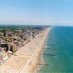Jesolo Lido (Venice) seaside