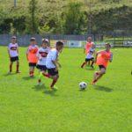 AC Milan Camp soccer player in Asiago