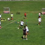 AC Milan Camp training in playing field of Cortina