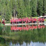 AC Milan holiday at Cortina Dolomites Alps