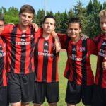 AC Milan Camp boys in soccer camp at Jesolo Venice