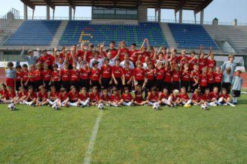 AC Milan Junior Camp im Jesolo Venedig StadionVenice stadium
