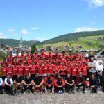 AC Mailand Fußballcamp im Hochebene von Asiago