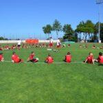 AC Milan Camp playing field in Jesolo Venice