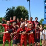AC Milan staff in the Sporting Village Lignano