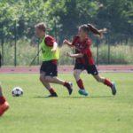 Girls at AC Milan soccer Camp Jesolo