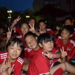 AC Milan Camp children at Lignano Sabbiadoro