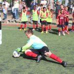 Goalkeeper at AC Milan Junior Camp