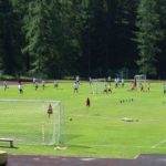 Playing field Cortina of AC Milan Camp