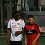 Soccer player at AC Milan Camp Lignano