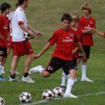 AC Milan Junior Camp training