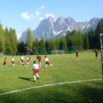 AC Milan soccer Camp playing field