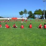 AC Milan Camp playing field in Jesolo Venice