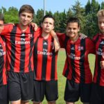 AC Milan Camp boys in soccer camp at Jesolo Venice