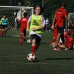 Child at AC Milan Camp Lignano